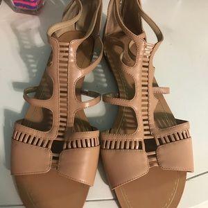 Shoes - Antonio Melani - nude sandals